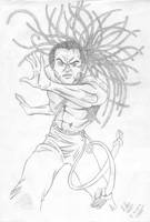 Capoeira Figther by xikosampaio