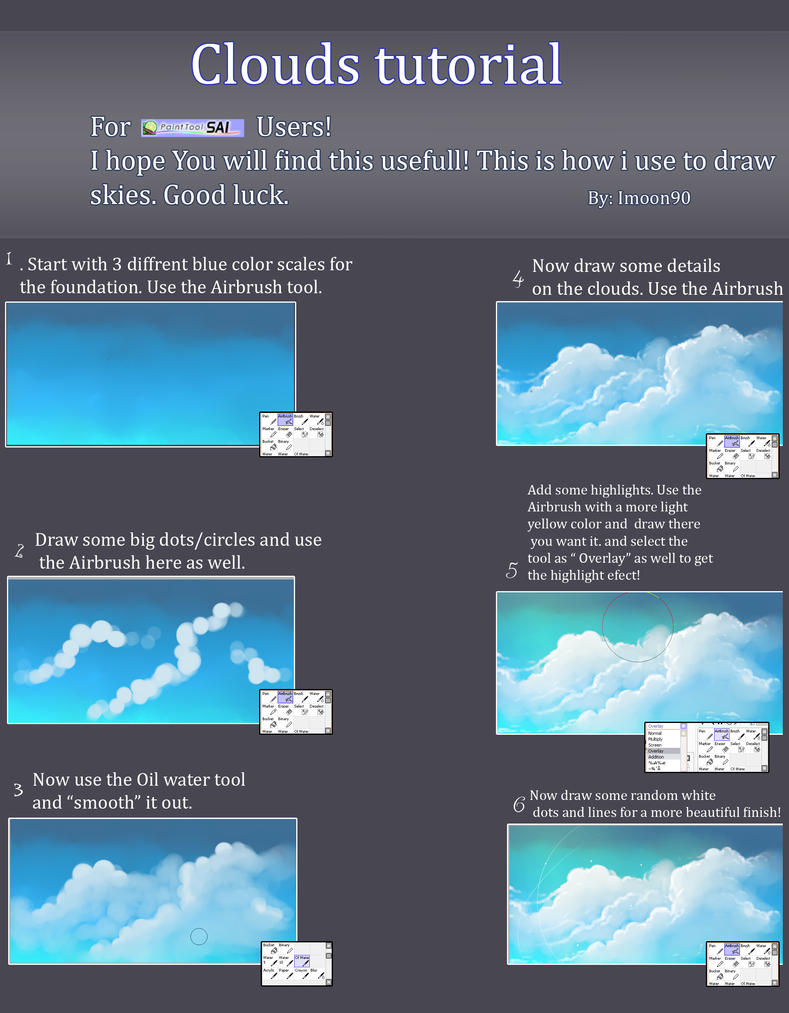 Clouds tutorial by Imoon90
