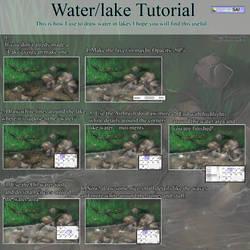 Water in lake tutorial by ImoonArt