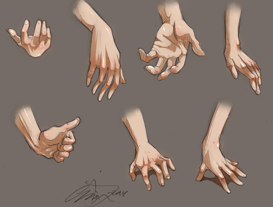 HAND poses by Imoon90