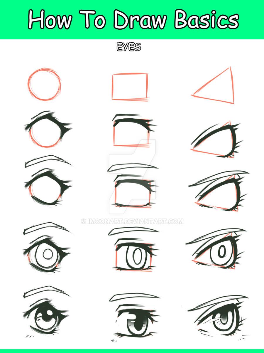 Drawing eyes on all tutorials deviantart qinni 33799 700 basic manga eye tutorial by imoonart ccuart Gallery