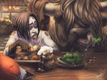 Hungry  by ImoonArt