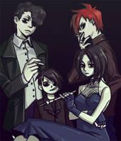 goth kids by Jihyuni