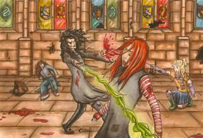 Avada kedavra Harry Potter by cristinademanuel
