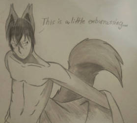 Seductive wolf