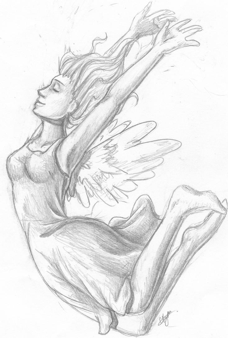 Free falling sketch by chazzatron on deviantart for Sketch online free