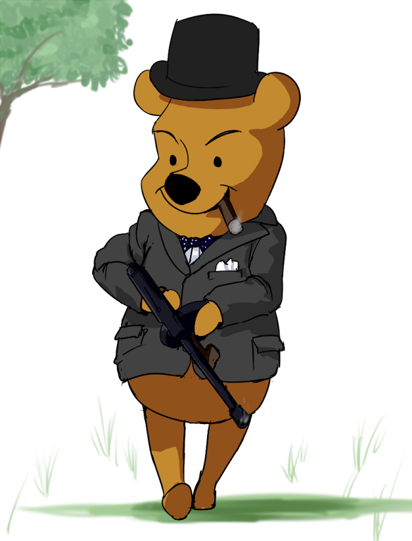 Winnie the Churchill by wbd
