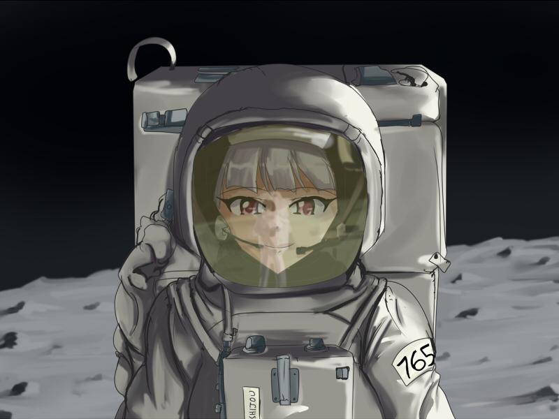Lunar Princess by wbd