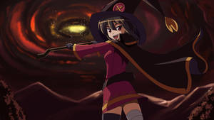 Megumin is Ready to Fire by wbd
