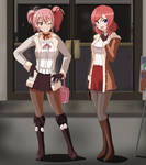Dinner and a Show Together with Mika and Maki