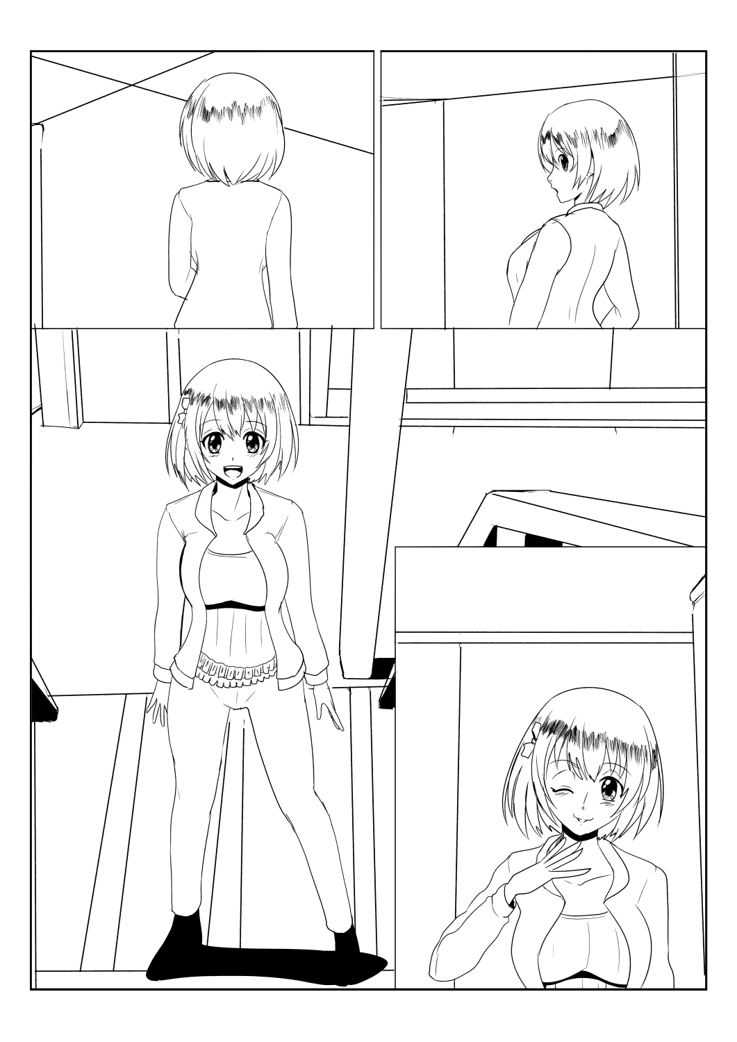 Another Meeting- a Quick Practice Comic Page by wbd