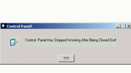 Exagear Windows emulator error - Control Panel