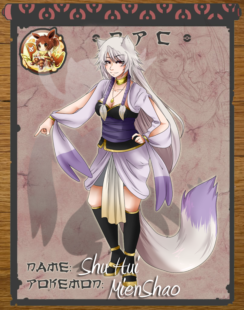 Poki- Shu Hui the Mienshao by Emi-Ane