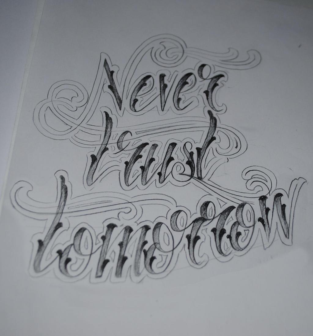Never Trust Tomorrow by KrisHanson