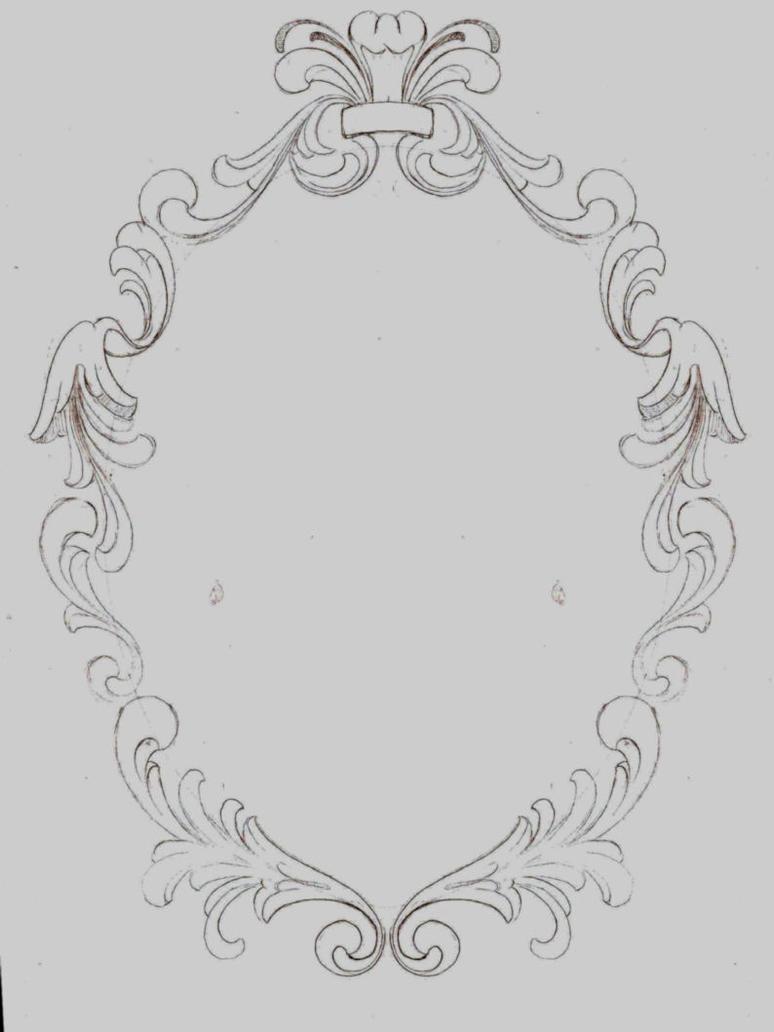 Filigree Frame II - Unfinished by KrisHanson on DeviantArt