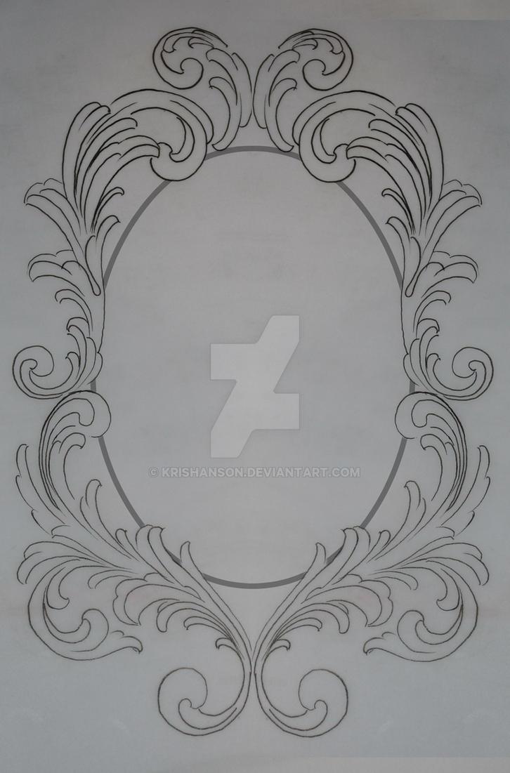 Filigree Frame Request by KrisHanson on DeviantArt