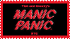 manic panic stamp by neonnights2000