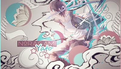 Yato [Noragami] Signature by YataMirror
