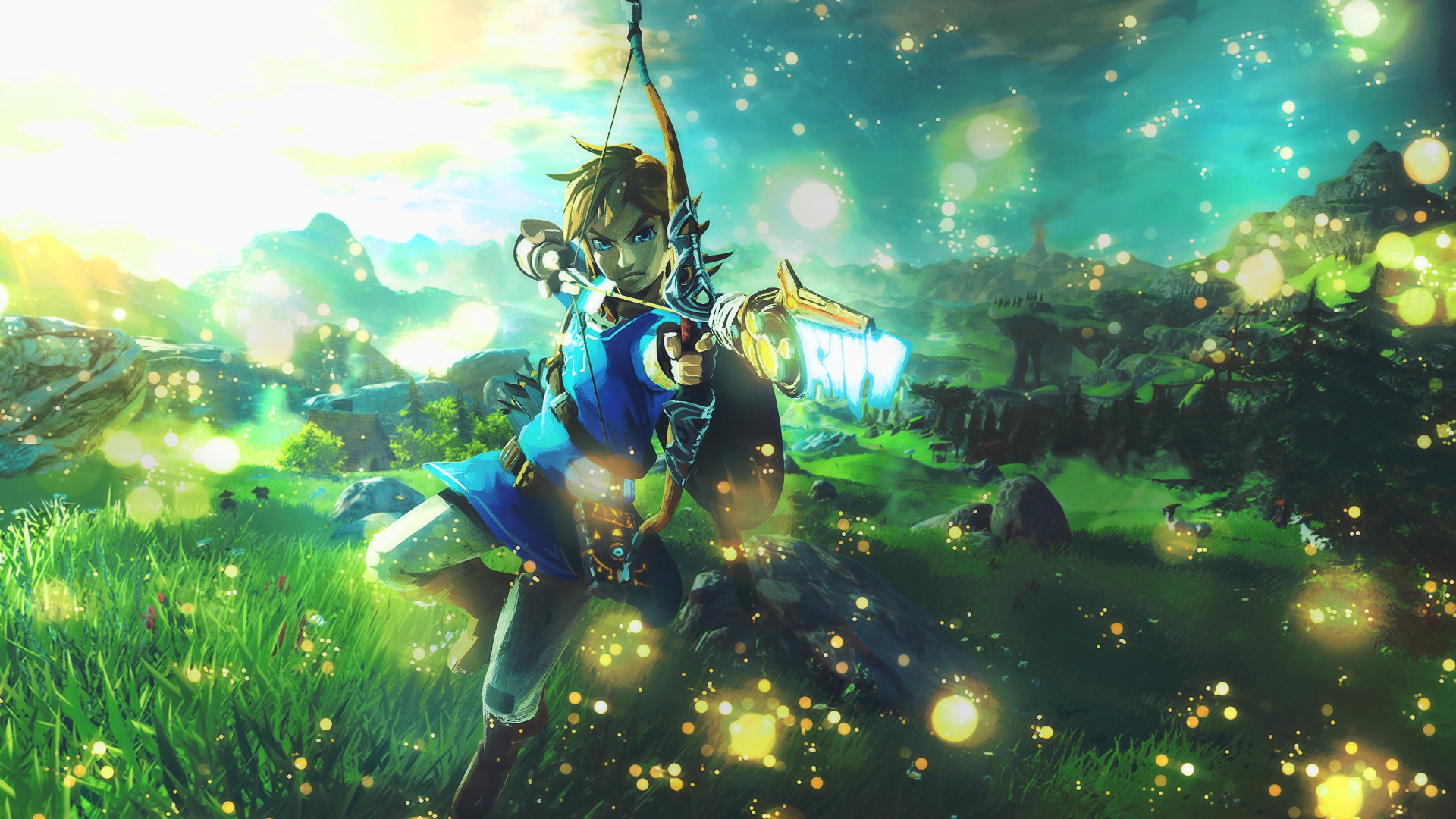 Breath Of The Wild Desktop Wallpaper: Zelda: Breath Of The Wild [Wallpaper] By YataMirror On