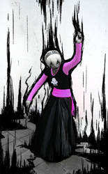Grimdark Rose by worstghosthouse