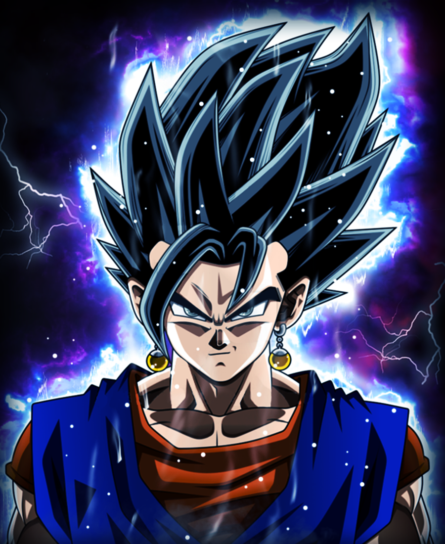 Ultra Instinct Dragon Ball Super Wallpaper: [Dragonball Super] Vegito Ultra Instinct By Flashmeisterr