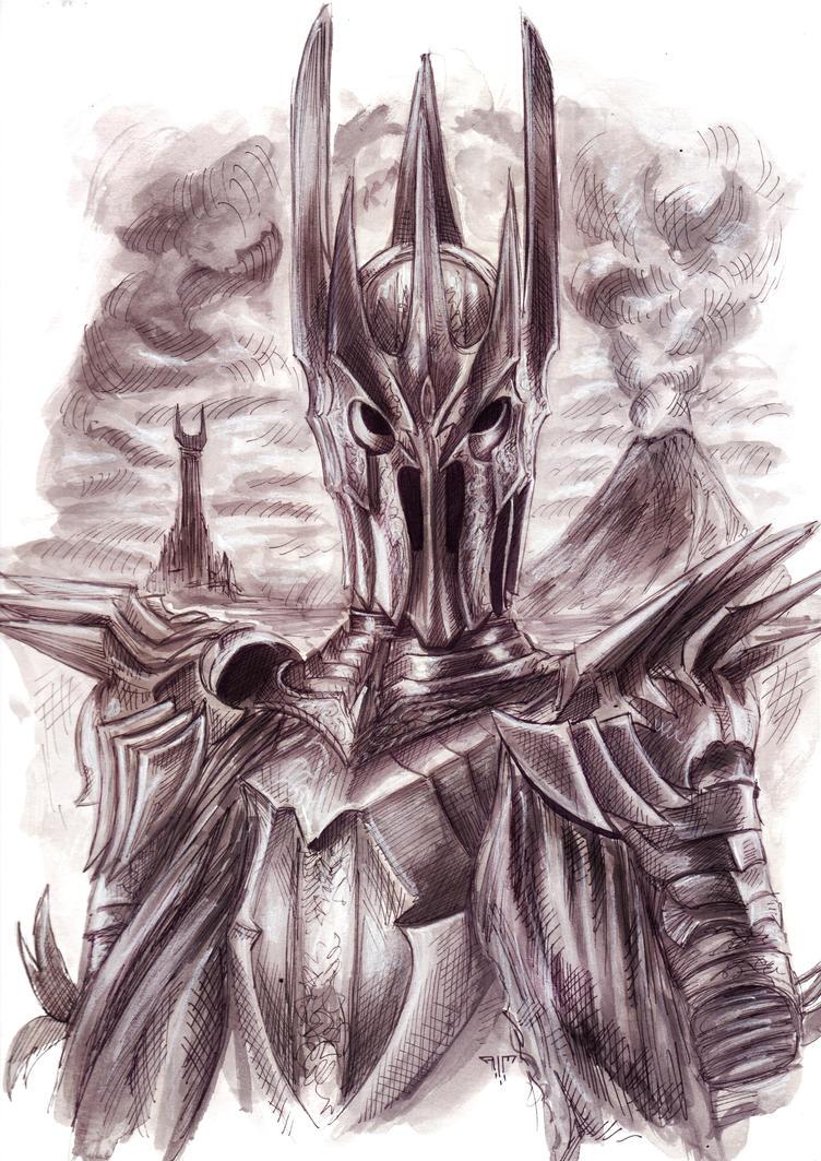 Sauron by AIM-art