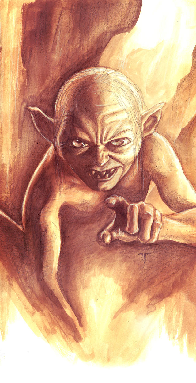 Gollum by AIM-art