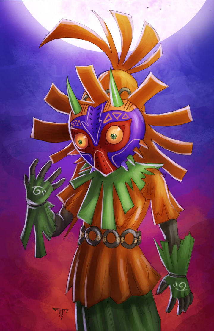 Skull Kid by AIM-art