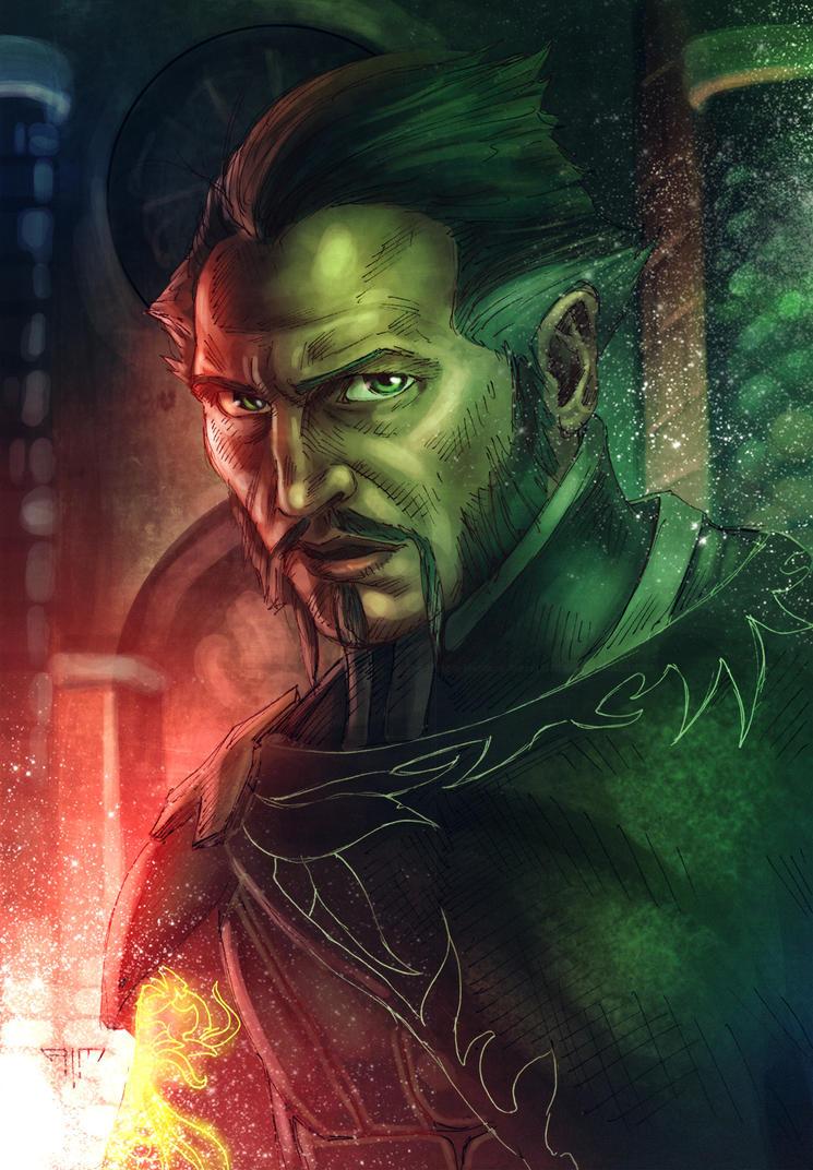 Ra's Al Ghul by AIM-art