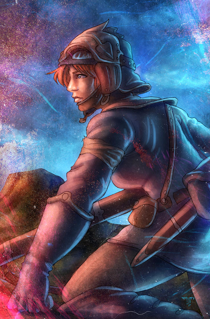 Nausicaa of the Valley of the Wind by AIM-art