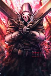 Overwatch - Reaper by AIM-art