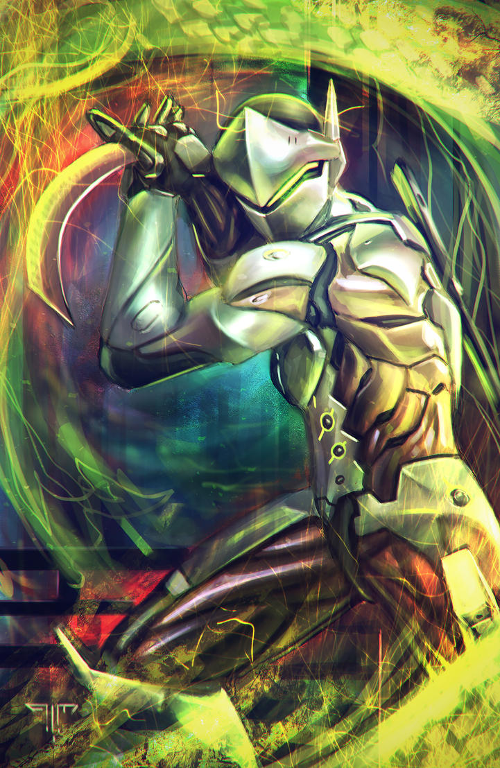 Overwatch - Genji by AIM-art