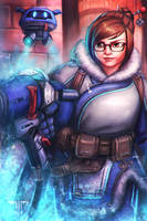 Overwatch - Mei by AIM-art