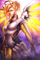 Overwatch - Mercy by AIM-art