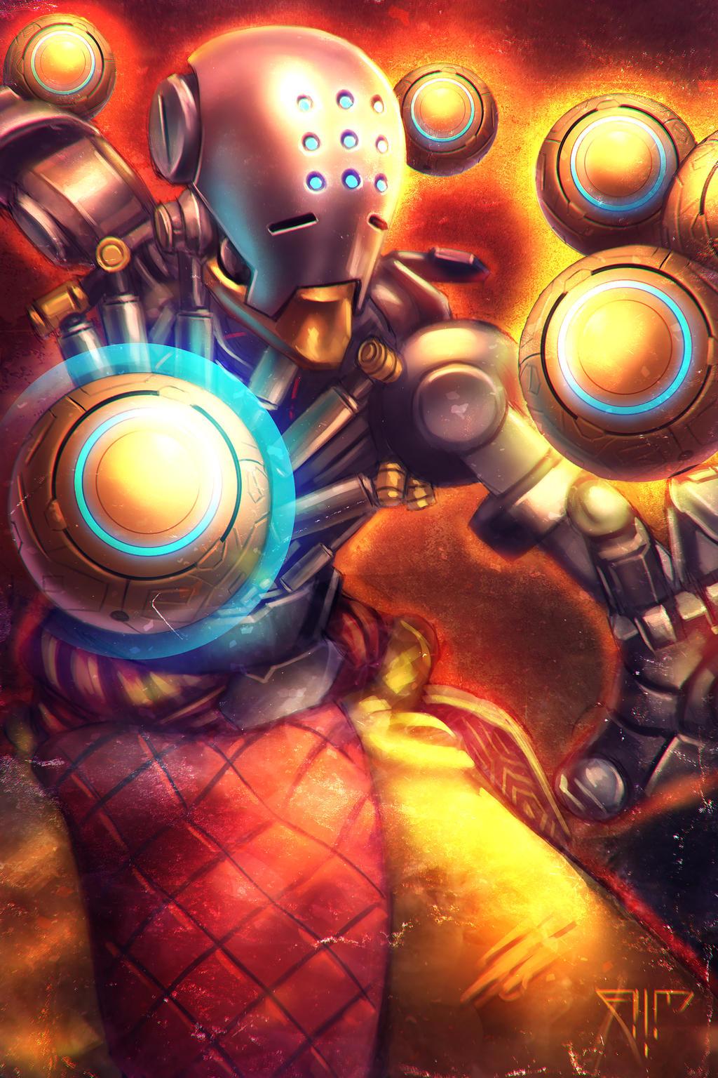 Group Of Overwatch Zenyatta Tetraktys Wallpaper