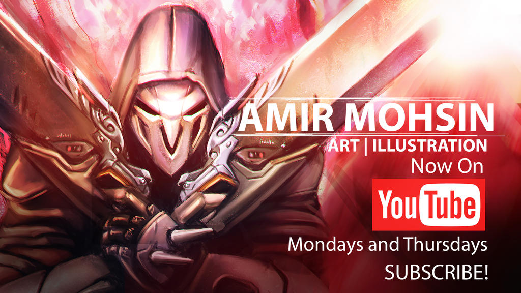 Digital Painting and Tutorials on YouTube! by AIM-art