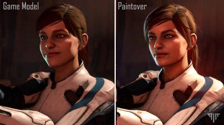 Mass Effect Andromeda Paintover by AIM-art