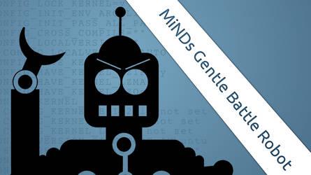 Minds Gentle Battle Robot by possiblyneil