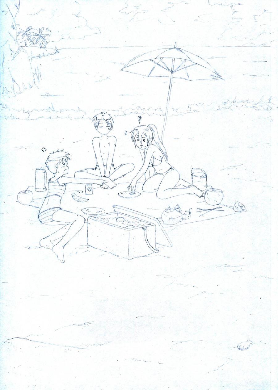 Fifth Sketch by Ronin-errante