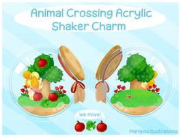 Animal Crossing Acrylic Shaker Charm Pre-Order!