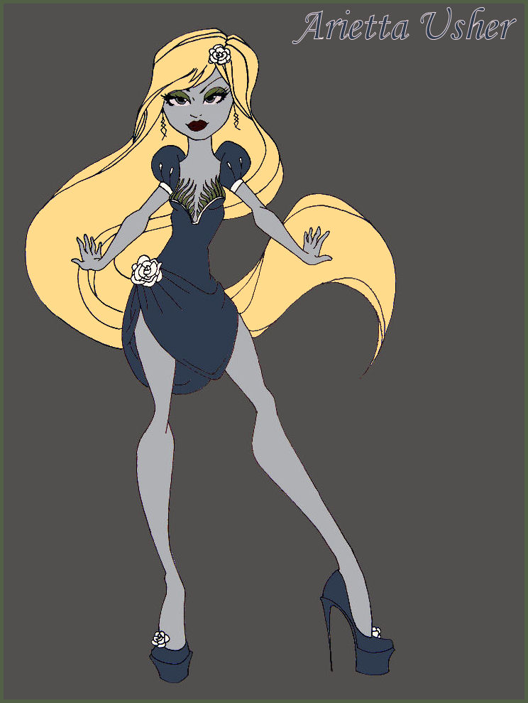 Monster High Arietta Usher by Brett1486
