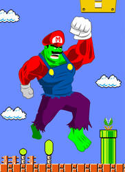 It's a me HULK by Requiem-Delacroix