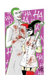 Joker and Harley by Requiem-Delacroix