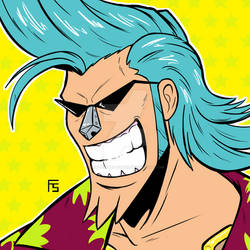 Franky from One Piece