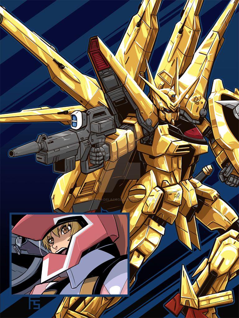 Akatsuki Gundam by Requiem-Delacroix