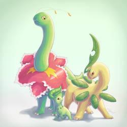 Pokemon: Grass Starters