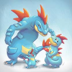 Pokemon: Water Starters