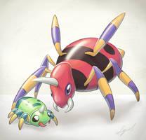 Pokemon: arachnids