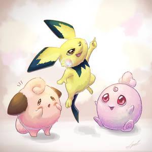 Pokemon: Fluffpuffs