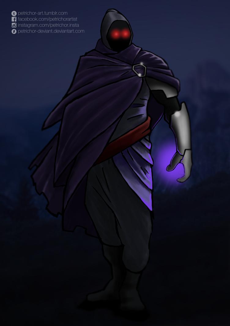 Masked man by Petrichor-Deviant